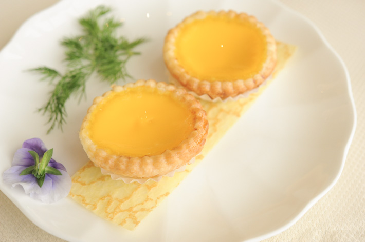 Baked Egg Tarts