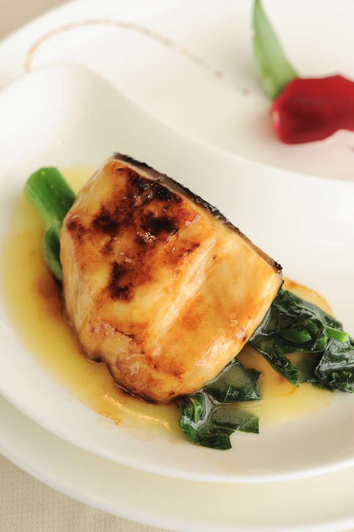 Baked Silver Cod