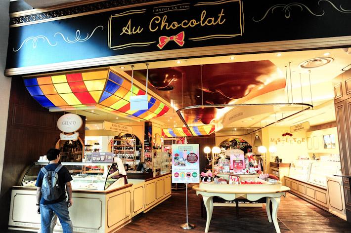 Au Chocolat Singapore