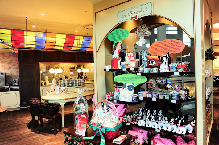 Au Chocolat shop