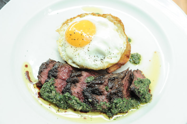 Osteria Mozza Hanger Steak