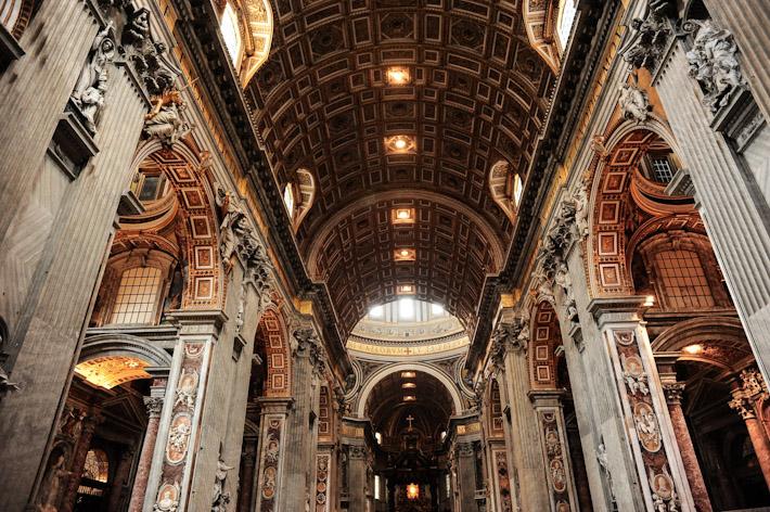 St Peter's Basillica Interior