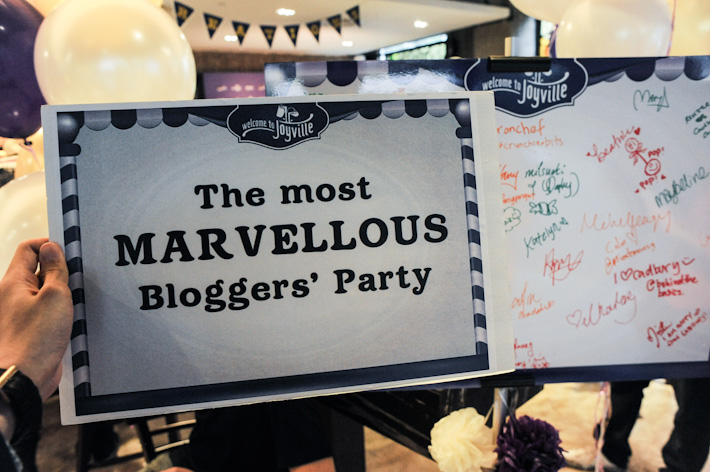 Cadbury Blogger Party
