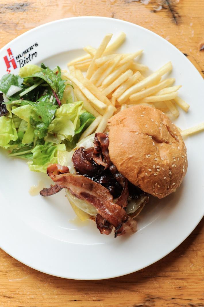 Huber's Butchery Burger