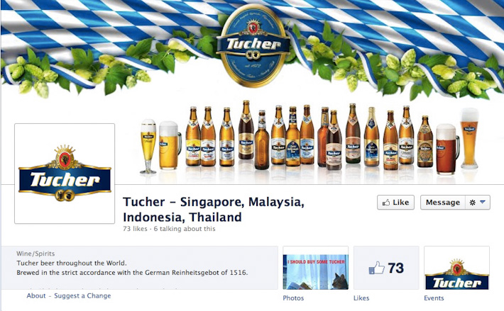 Tucher Brau Facebook