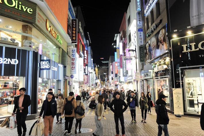 Myeong Dong Shopping