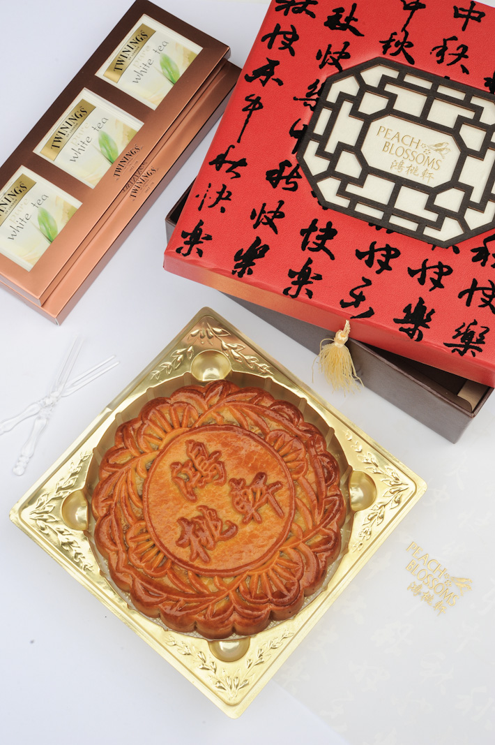 Peach Blossoms Mooncake
