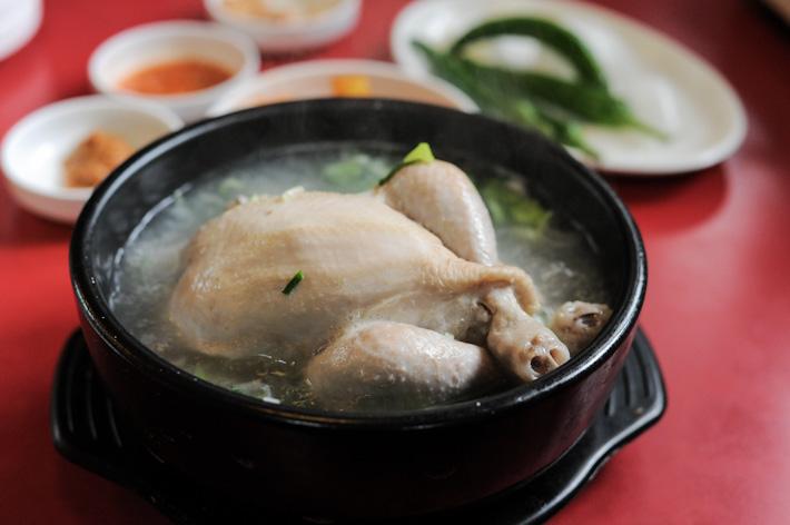 Korean Ginseng Chicken