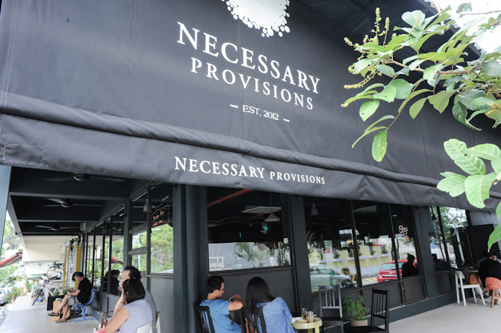 Necessary Provisions Cafe