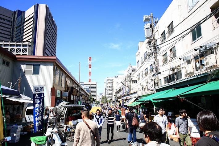 Outer Tsukiji Market