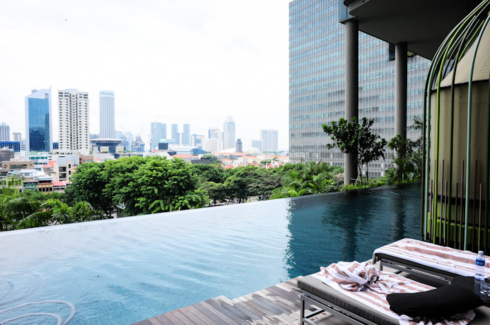 Parkroyal PickeringInfinity Pool