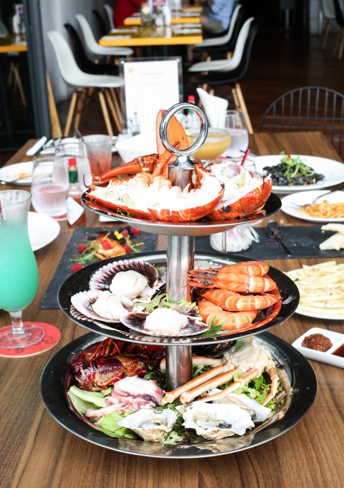 Quayside Fish Bar Seafood Platter