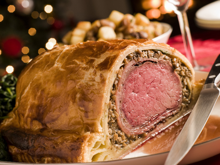Brussels Sprouts Beef Wellington
