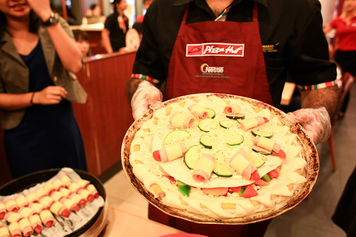 Pizza Hut Christmas Pizza
