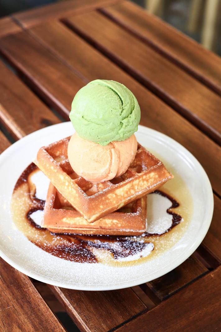 Creamier Waffles
