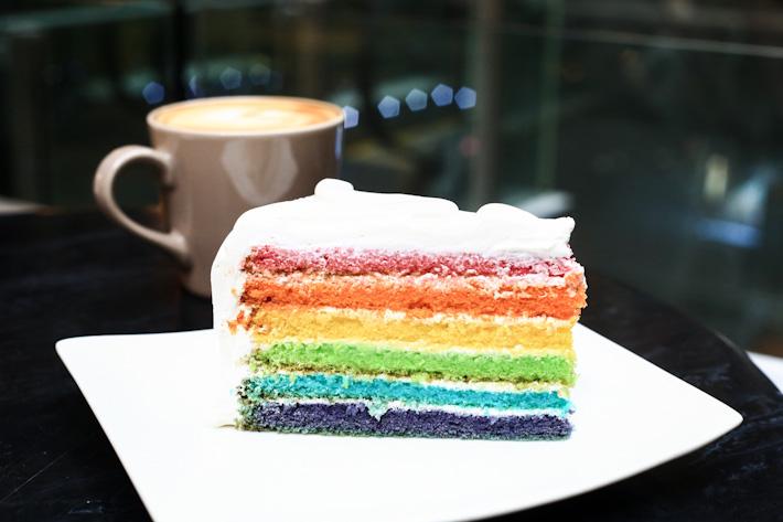 Dean & Deluca Rainbow Cake