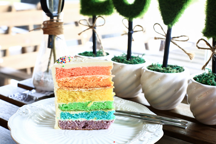 Fresh Fruits Lab Rainbow Cake