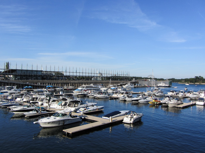 Old port yachts