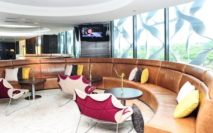 Crowne Plaza Club Lounge