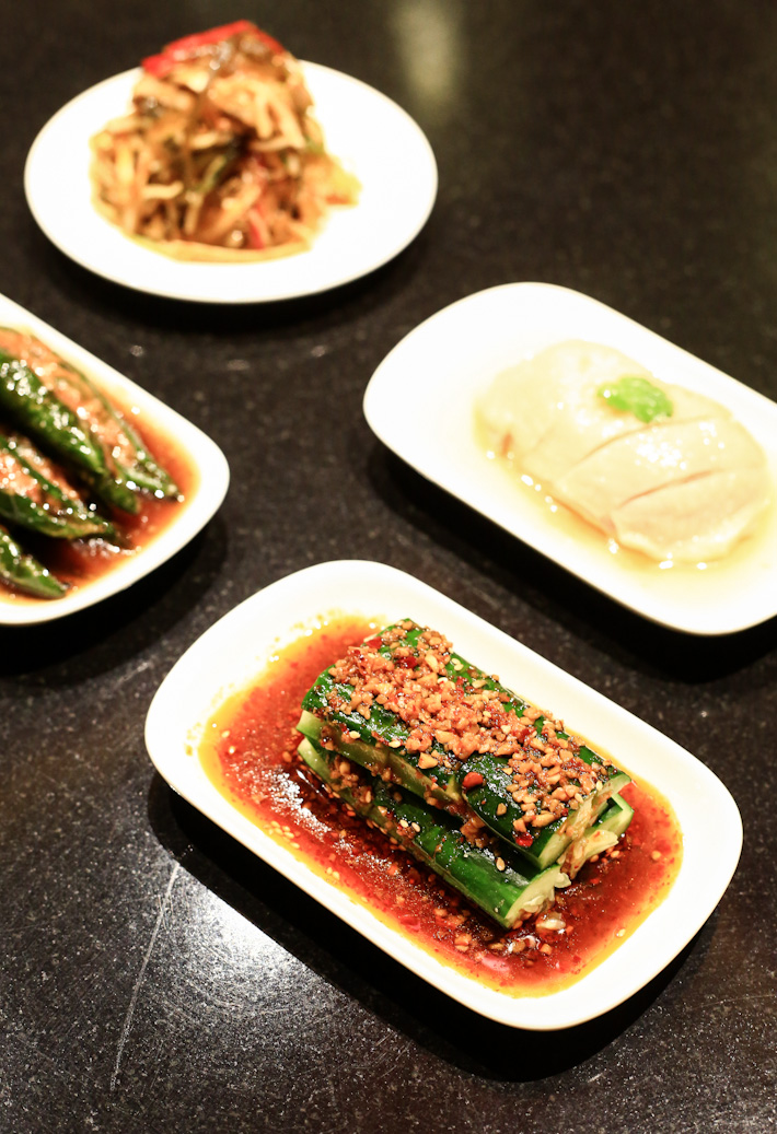 Din Tai Fung appetiseres