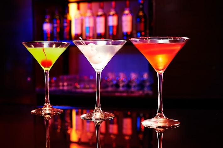 Gravity Bar Cocktails