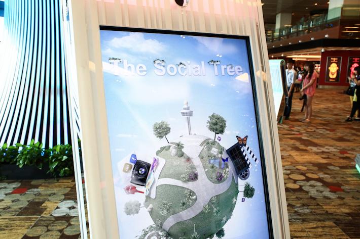 Social Tree Changi Airport