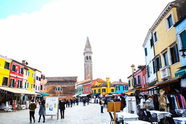 Burano Main Street