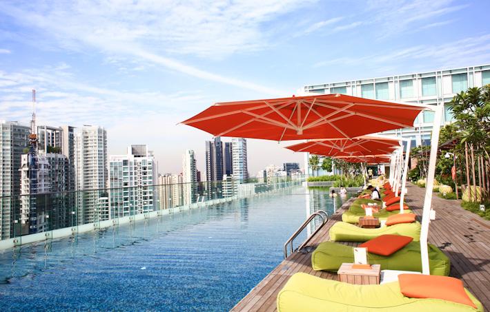 Hotel Jen orchardgateway pool