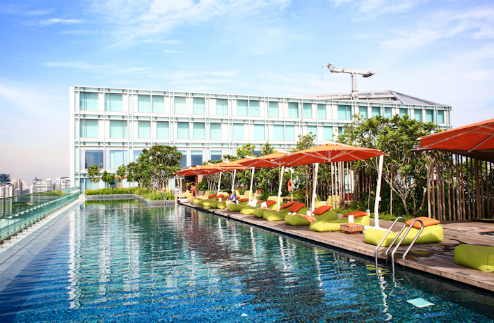 Singapore best swimming pool