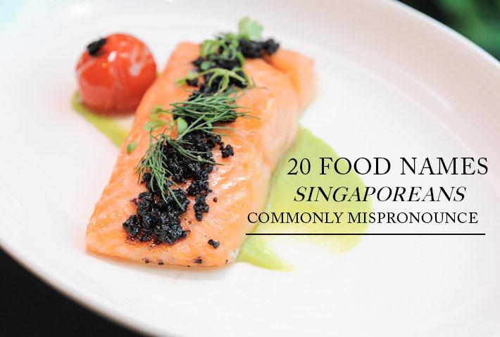Mispronounced Food Names