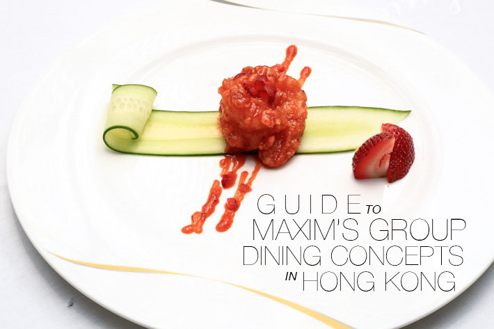 Maxim's Dining Guide