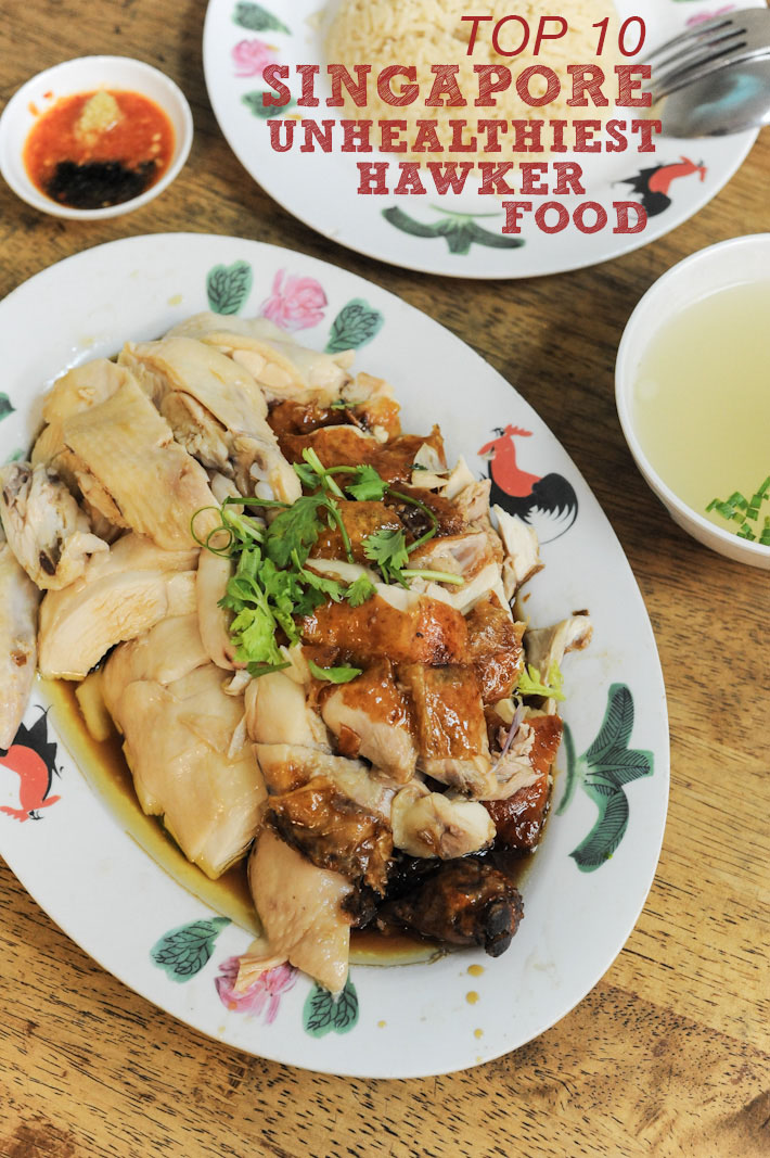 Unhealthiest Hawker Food