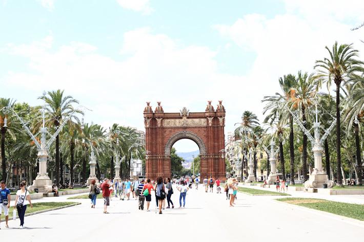 Barcelona Arc de triomph