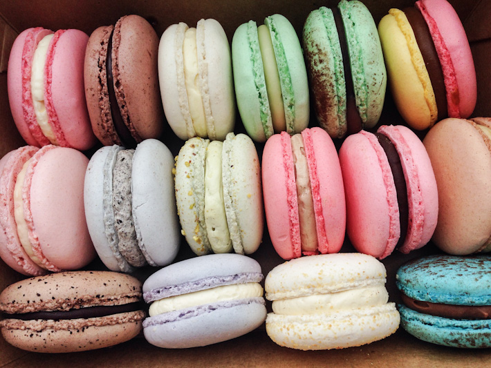 Bonheur macarons