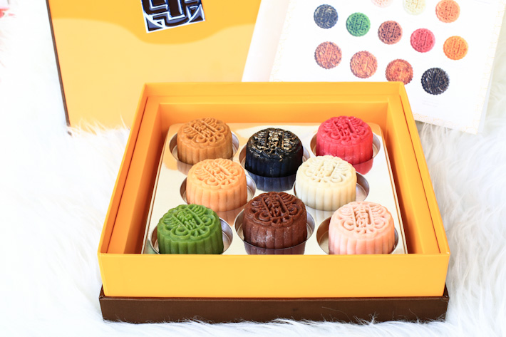 Grand Hyatt Snowskin mooncake