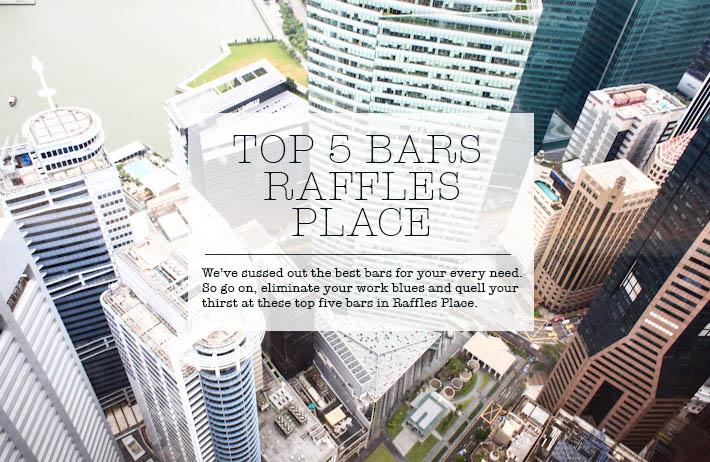 Raffles Place Best Bar