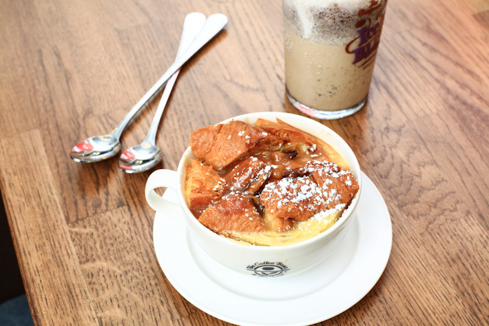 Salted Caramel Bread Butter Pudding