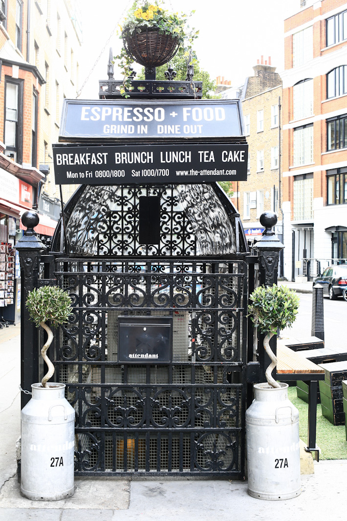 Attendant Cafe London