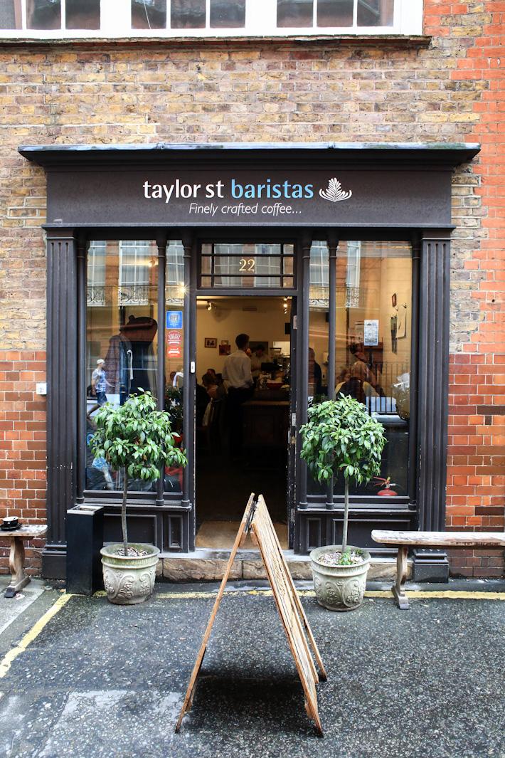 Taylor Street Barista