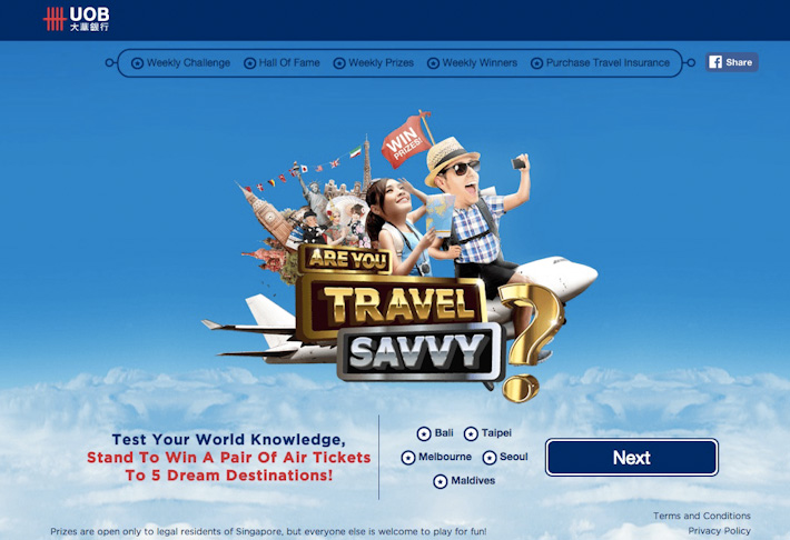 UOB Travel Savvy