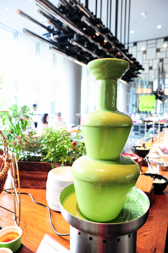 Green Tea Chocolate Fondue