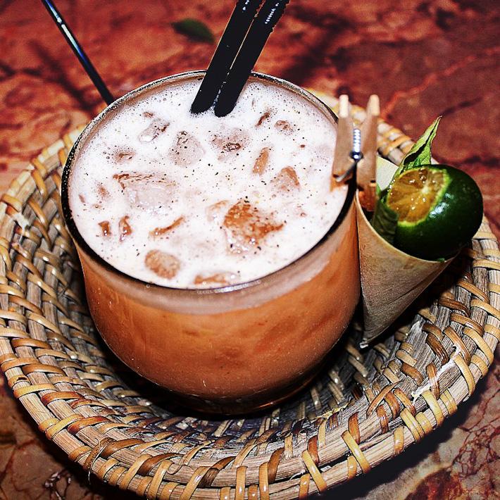 Mars Bar Chilli Crab Cocktail