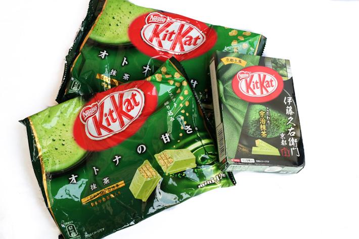 Matcha Kitkat
