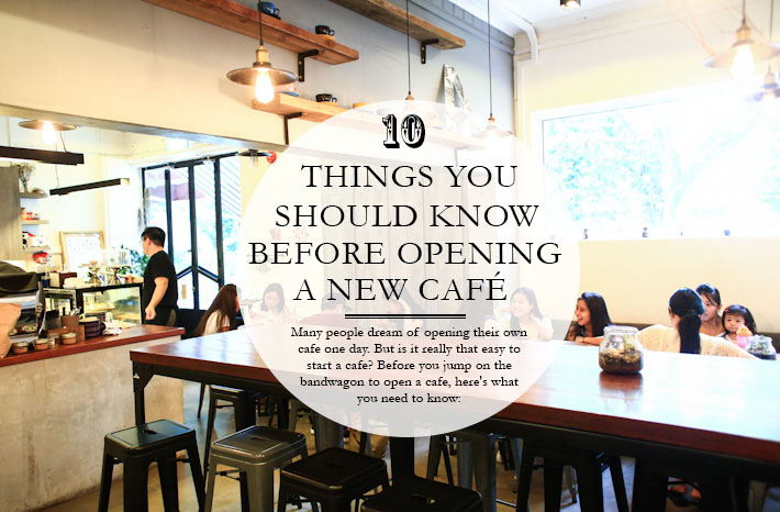 How to open a cafe