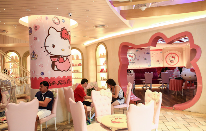 Hello Kitty Cafe BKK