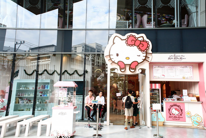 Hello Kitty Cafe Bangkok