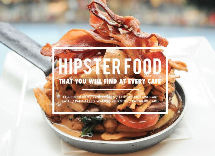 Hipster Cafe Food