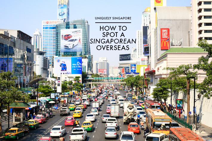 Spot Singaporean Overseas