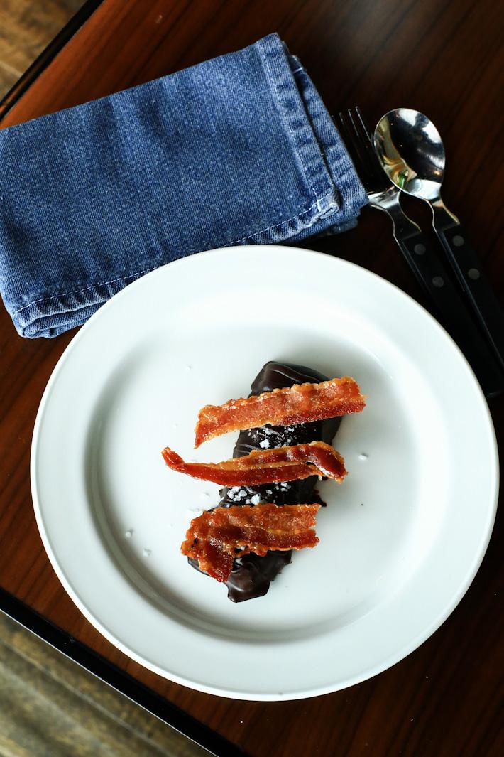 Smoked Bacon Caramel Chocolate