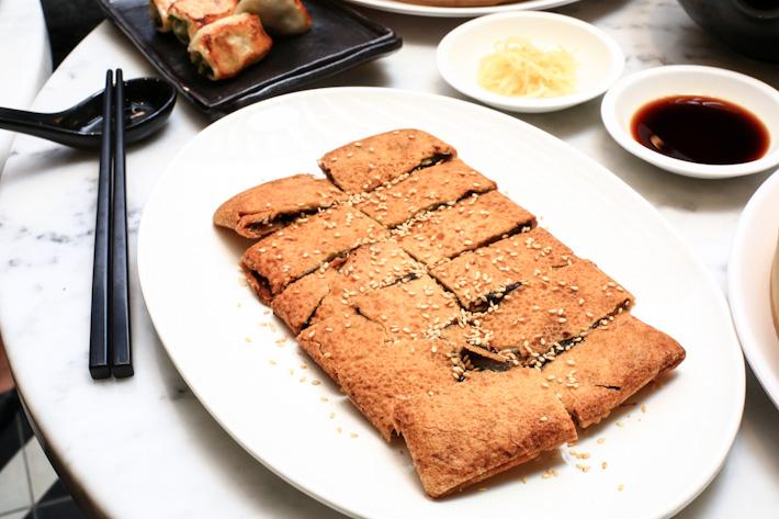 Crispy Redbean Pancake